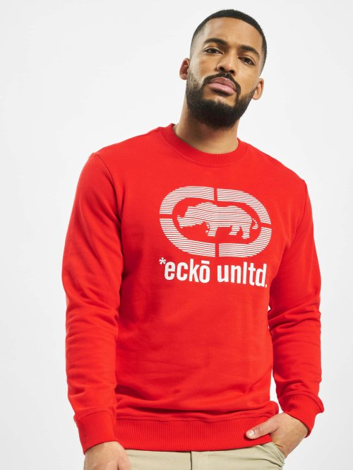 Ecko Unltd. Sweat & Pull  West Buddy Crewneck Red...