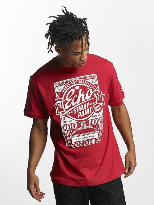 Ecko Unltd. T-Shirt Gordon´s Bay rot