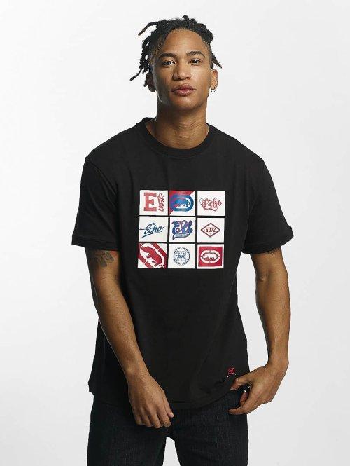 Ecko Unltd. t-shirt Clifton zwart