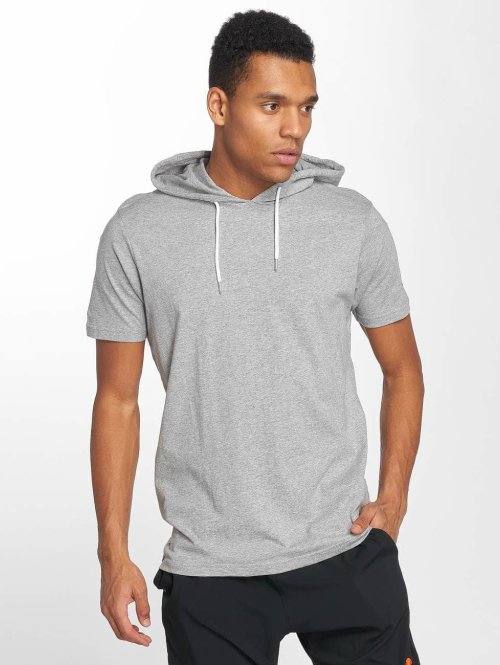 Ellesse t-shirt Arpeggiare Hooded grijs