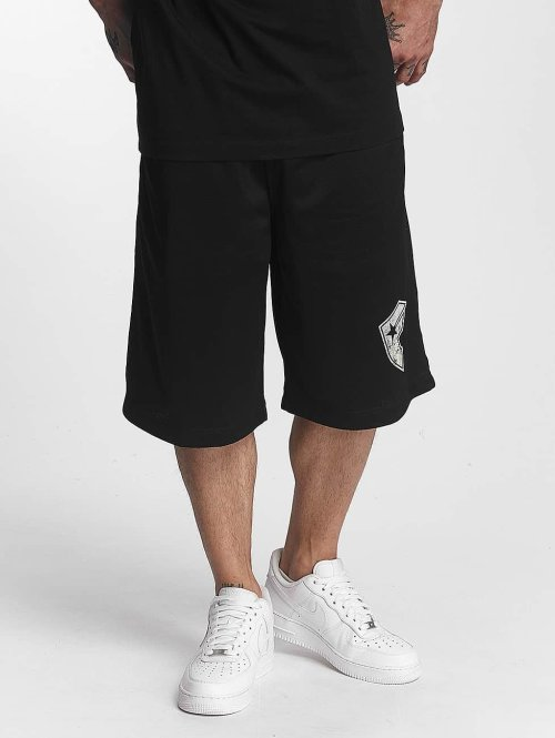 Famous Stars and Straps Shorts Logo schwarz
