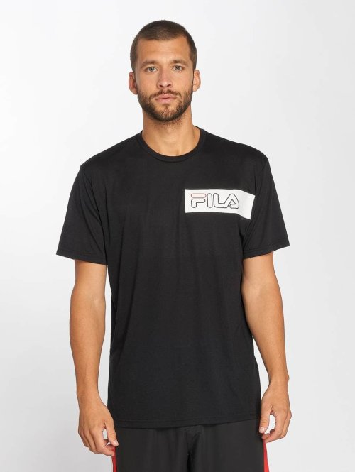 FILA t-shirt Urban Power Line Agile zwart