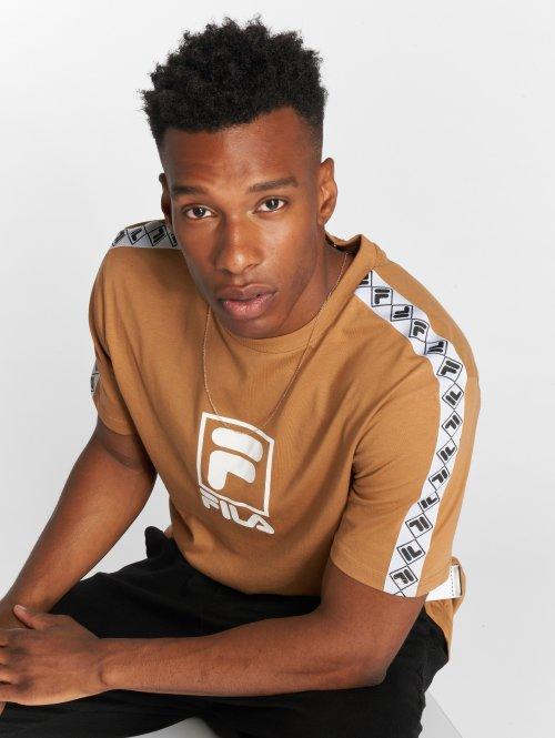 FILA T-Shirty Urban Line Rais brazowy