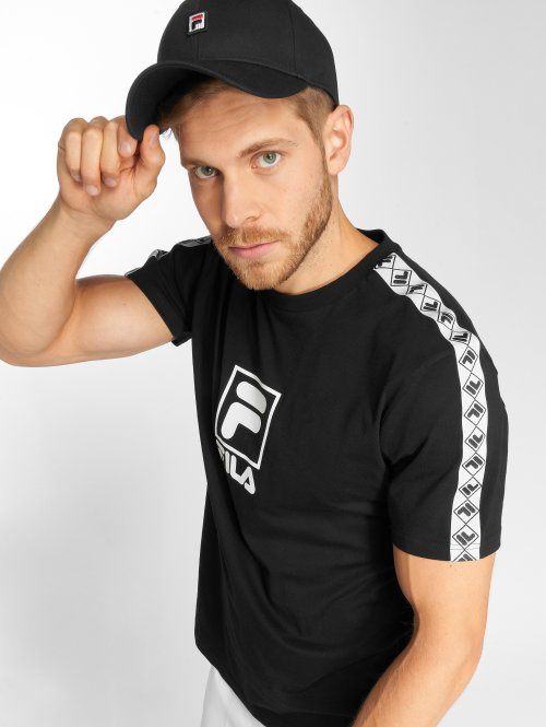 FILA T-Shirty Urban Line Rais czarny