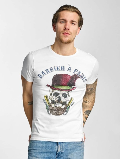 French Kick T-Shirt Olibrius weiß