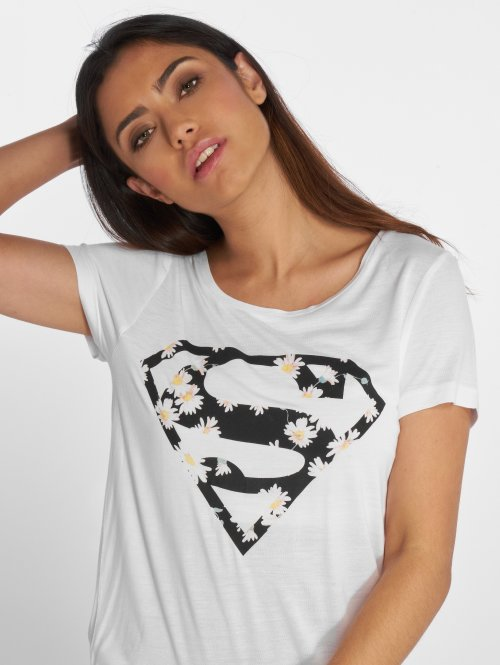 Fresh Made T-paidat Supergirl valkoinen