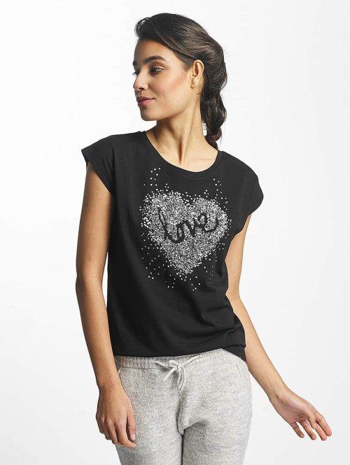 Fresh Made T-Shirt Love schwarz