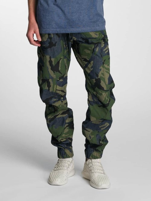 G-Star Antifit 3D Cuffed Tapered Jeans blau