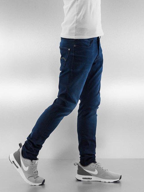 G-Star Slim Fit Jeans Revend blau