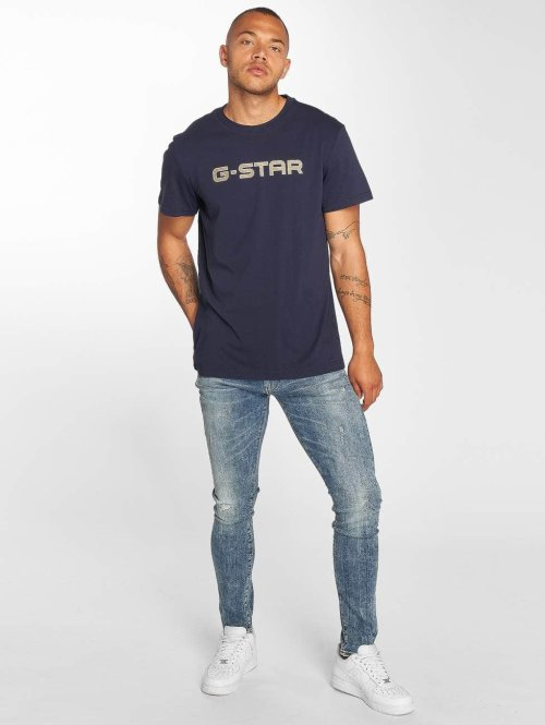 G-Star Slim Fit Jeans 3301 Elto blau