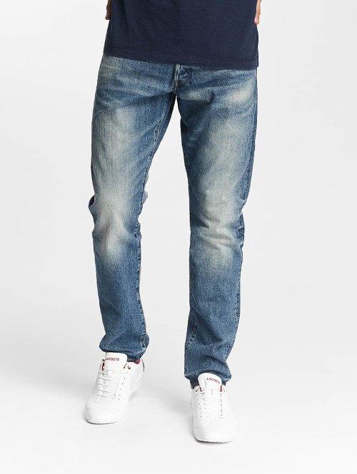 G-Star Straight Fit Jeans 3301 Higa Tapered Denim blau