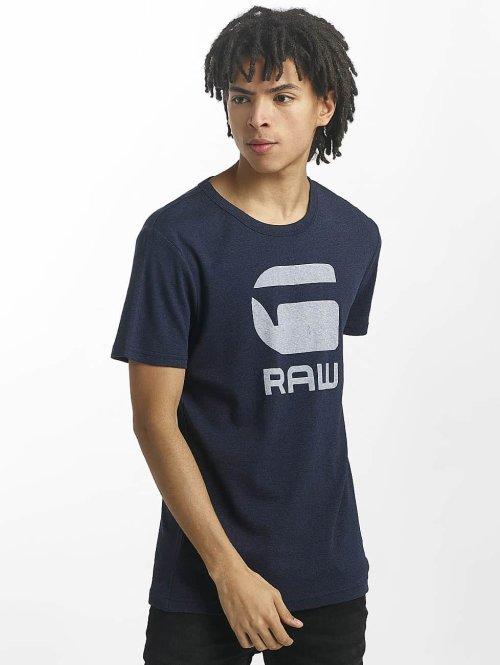 G-Star T-paidat Drillon Cool Rib sininen