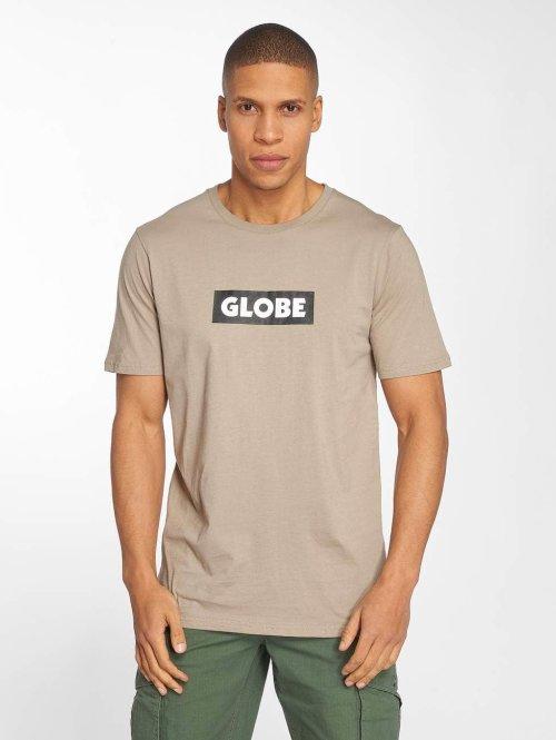 Globe t-shirt Box beige