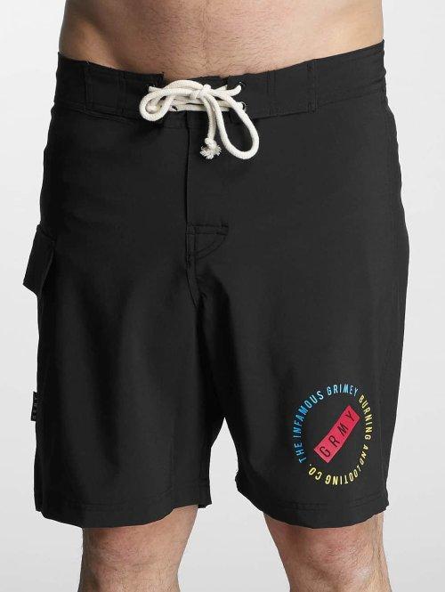 Grimey Wear Badeshorts Stick Up schwarz