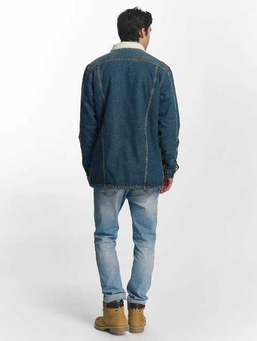 Grimey Wear Übergangsjacke Denim Jacket blau