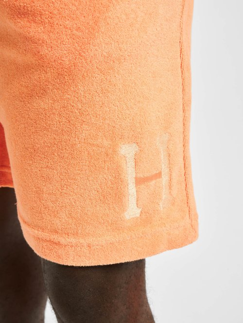 HUF Shorts Clayton orange