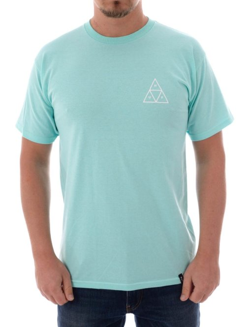 HUF T-Shirt Triple Triangle blau