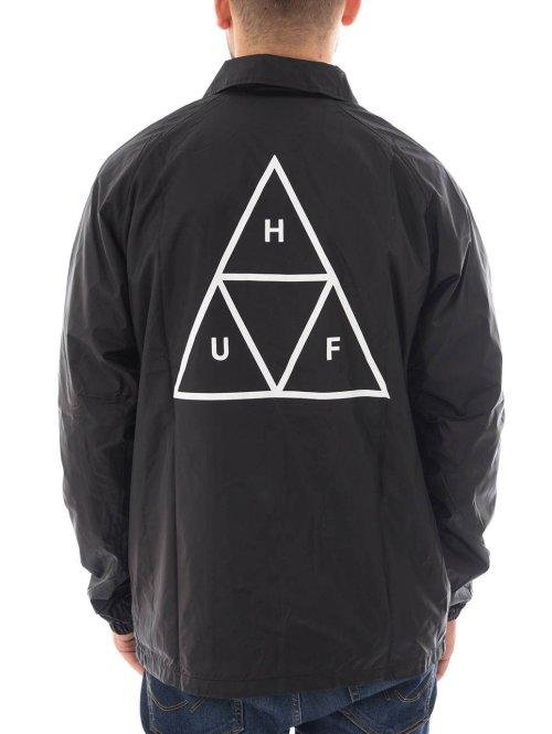 HUF Winterjacke Triple Triangle schwarz