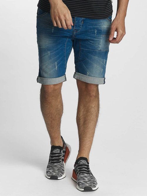 ID Denim Shorts Heat blau