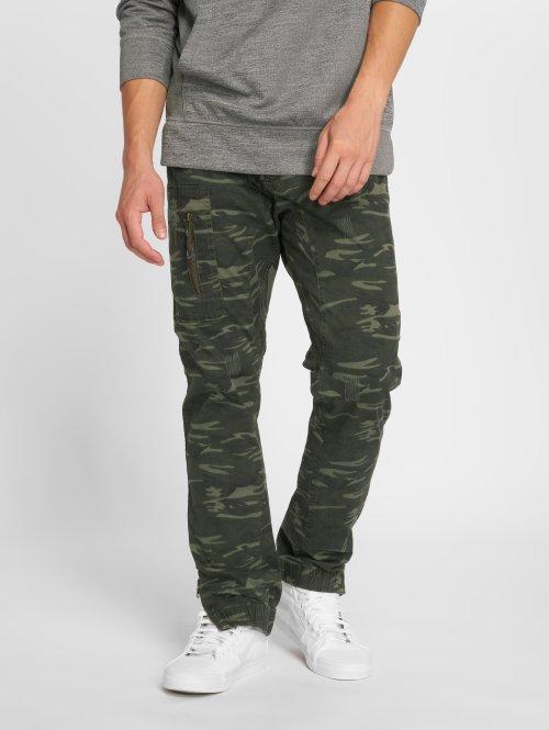 Indicode joggingbroek Yacine camouflage
