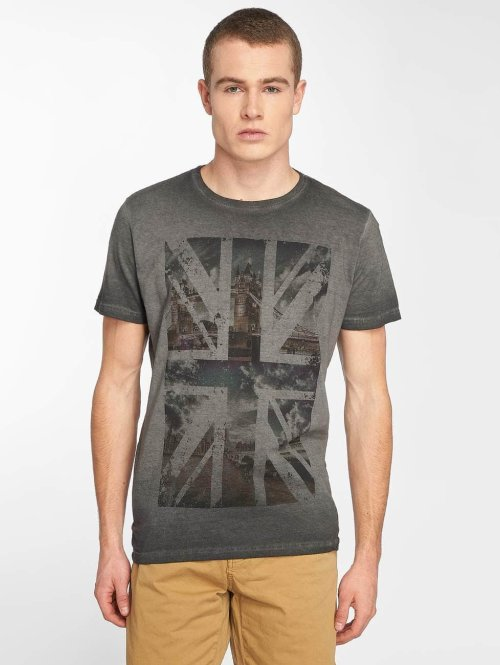 Indicode t-shirt Corina grijs