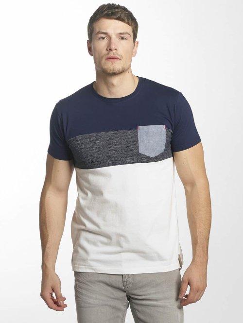 Indicode t-shirt Clemens wit