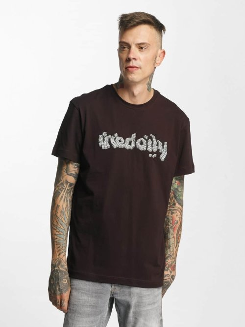 Iriedaily T-Shirt Cobblestone rot