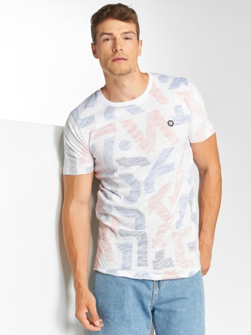 Jack & Jones Camiseta jcoLet blanco