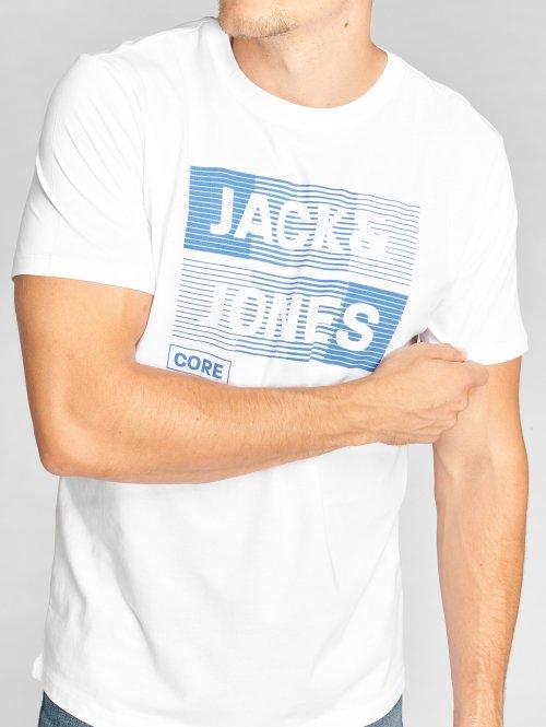 Jack & Jones Camiseta jcoMase blanco