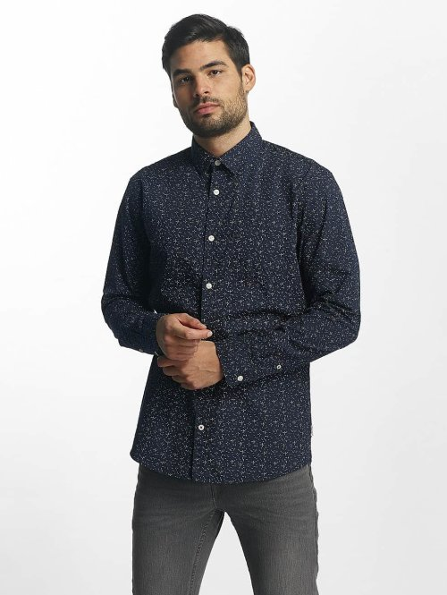 Jack & Jones overhemd jorSimon blauw