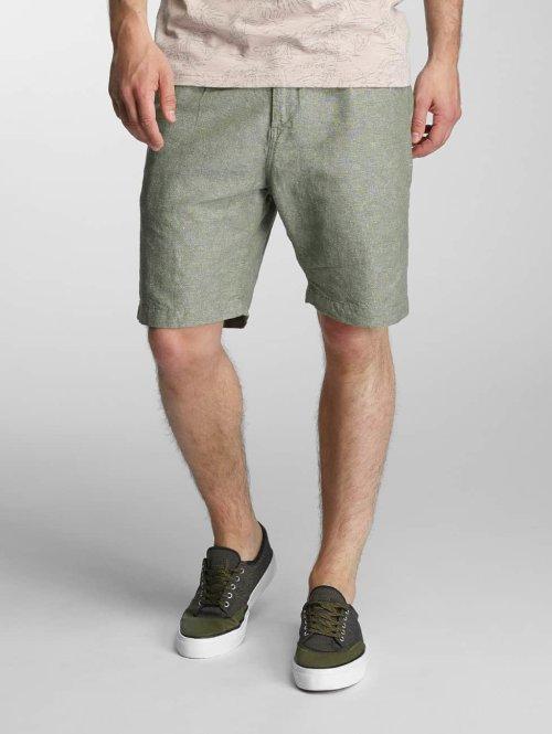 Jack & Jones shorts jjiLinen olijfgroen