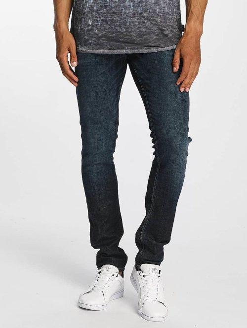 Jack & Jones Slim Fit Jeans jjGlenn Original JJ 022 blauw