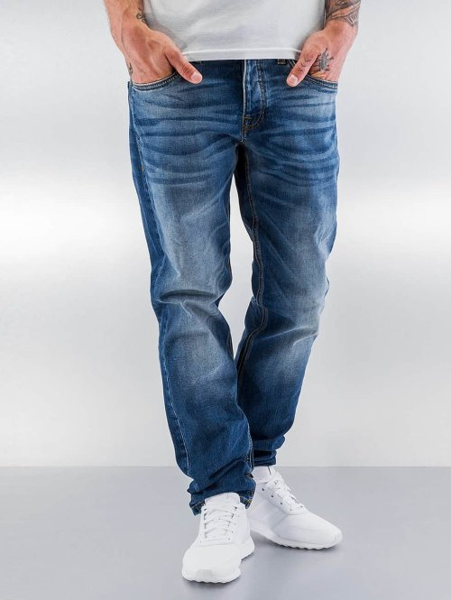 Jack & Jones Straight Fit Jeans jjiMike jjOriginals blau
