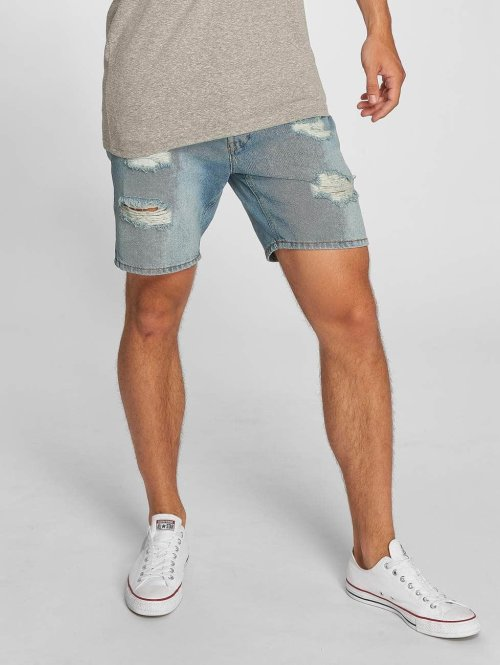 Jack & Jones Szorty jjiRick Camp niebieski