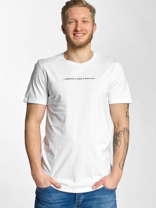 Jack & Jones T-paidat jcoFollow valkoinen