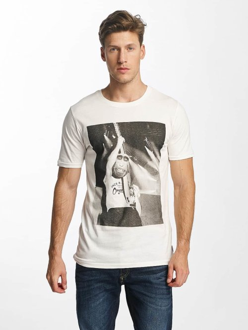 Jack & Jones T-paidat jorComet valkoinen