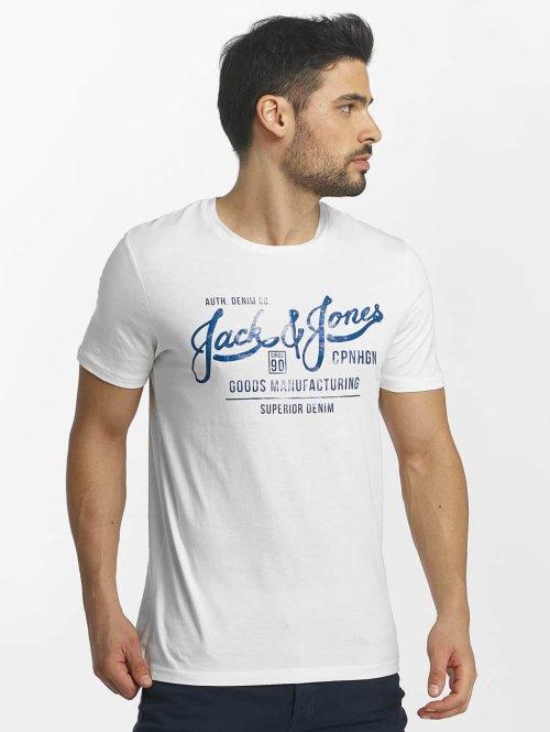 Jack & Jones T-paidat jorSlack valkoinen