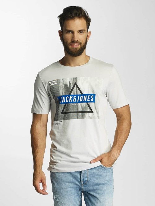Jack & Jones T-Shirt jcoMango Fire beige