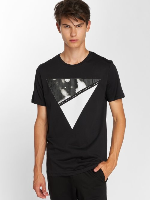 Jack & Jones T-Shirt jcoArc Crew Neck black