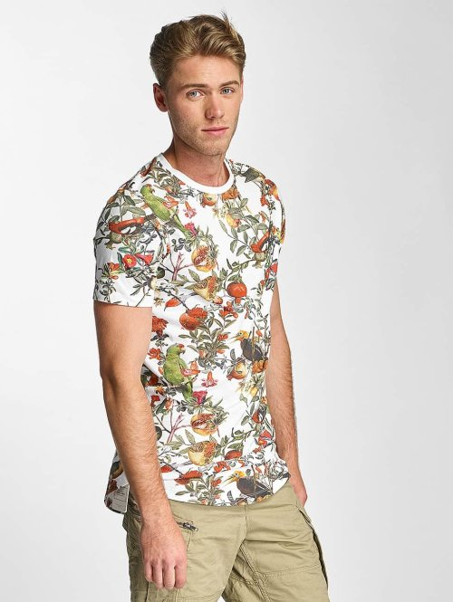 Jack & Jones T-Shirt jjorMusa blanc