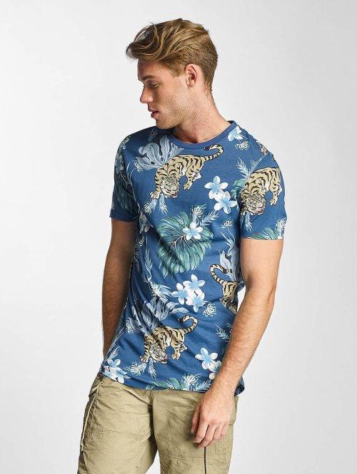 Jack & Jones T-Shirt jjorMusa blau