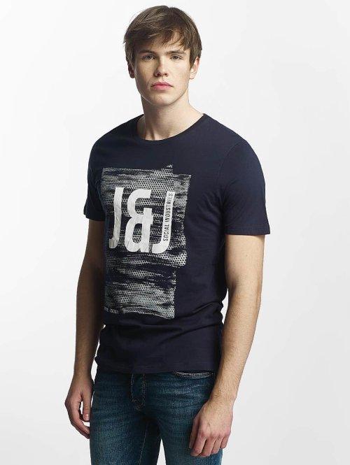 Jack & Jones T-Shirt jcoProfile blau