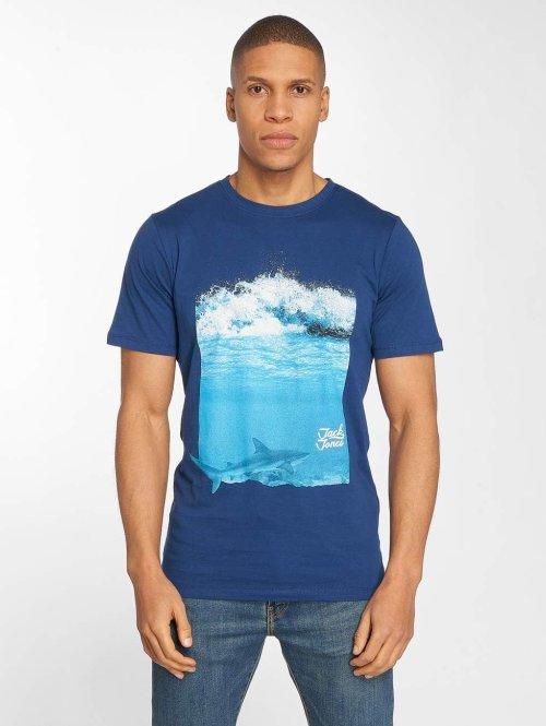 Jack & Jones T-Shirt jorHorizon blau