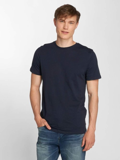 Jack & Jones T-Shirt jjePlain blau