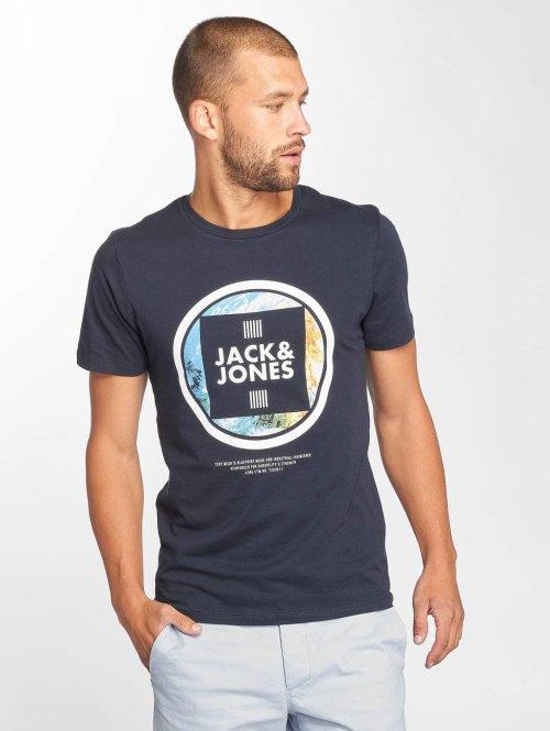 Jack & Jones T-Shirt jcoLax blau