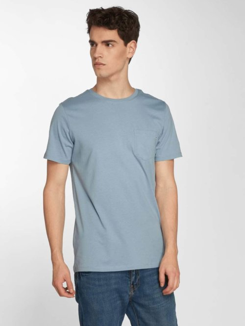 Jack & Jones t-shirt jjePocket blauw