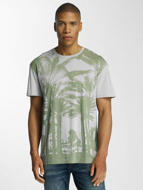 Jack & Jones T-Shirt jorMalibu grau