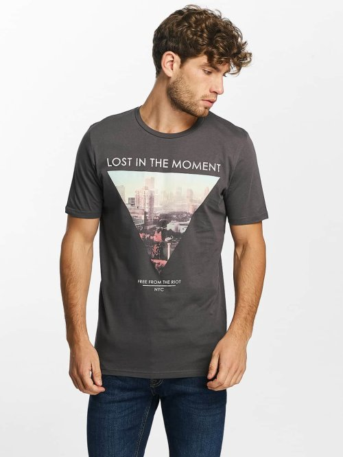 Jack & Jones T-Shirt jjorHello grau