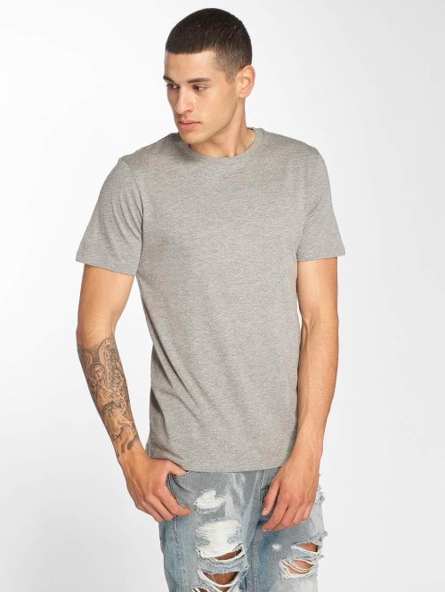 Jack & Jones T-Shirt jjePlain grau
