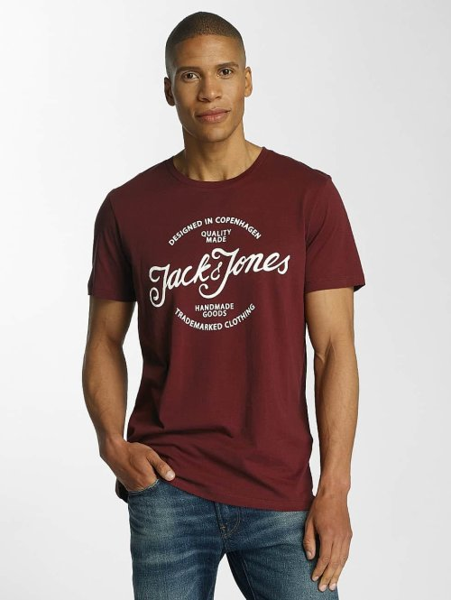 Jack & Jones T-Shirt jorNyraffa rot